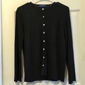 Karen Scott button down sweater
